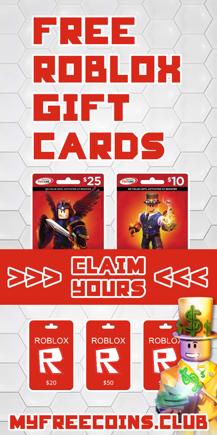 How To Redeem And Get Roblox Gift Cards My Free Coins -